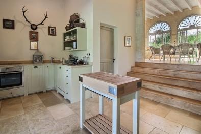 Summer Kitchen in Orangerie